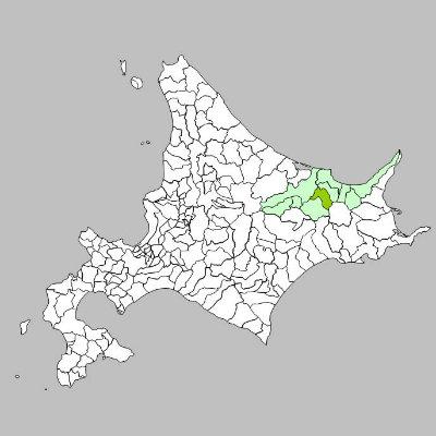 美幌町と2次医療圏