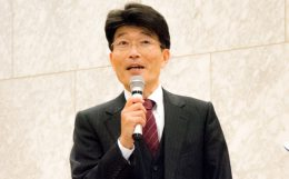 川越胃腸病院の小川卓氏(総務部長、医療サービス対応事務局長)